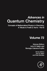Cover image for Concepts of Mathematical Physics in Chemistry: A Tribute to Frank E. Harris - Part B