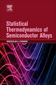 Cover image for Statistical Thermodynamics of Semiconductor Alloys