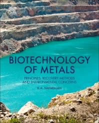 Cover image for Biotechnology of Metals