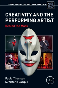 cover of Creativity and the Performing Artist - 1st Edition