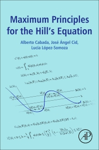 Cover image for Maximum Principles for the Hill's Equation