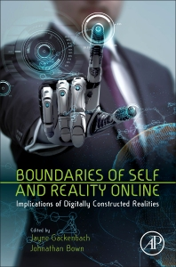 Cover image for Boundaries of Self and Reality Online