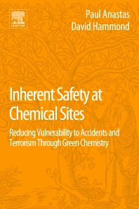 Cover image for Inherent Safety at Chemical Sites