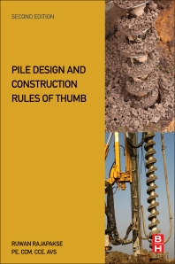Cover image for Pile Design and Construction Rules of Thumb