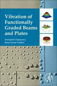 Cover image for Vibration of Functionally Graded Beams and Plates