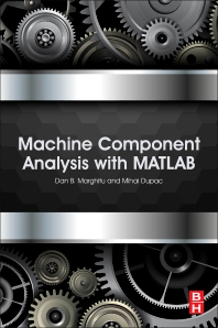 Cover image for Machine Component Analysis with MATLAB