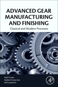 Cover image for Advanced Gear Manufacturing and Finishing