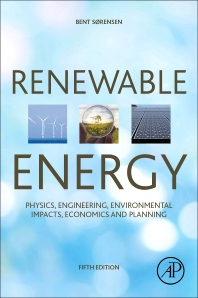 Renewable Energy - 5th Edition - ISBN: 9780128045671, 9780128026106