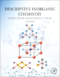 cover of Descriptive Inorganic Chemistry - 3rd Edition