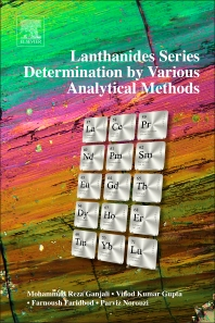 Cover image for Lanthanides Series Determination by Various Analytical Methods