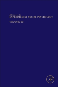 Advances in Experimental Social Psychology - 1st Edition - ISBN: 9780128047378, 9780128051160