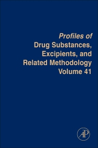 Profiles of Drug Substances, Excipients and Related Methodology - 1st Edition - ISBN: 9780128047842, 9780128051764