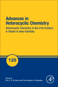 Book Series: Advances in Heterocyclic Chemistry: Alan Katritzky Tribute volume
