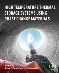 Cover image for High-Temperature Thermal Storage Systems Using Phase Change Materials