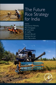 Book cover image for The Future Rice Strategy for India