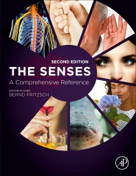 Cover image for The Senses: A Comprehensive Reference