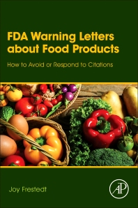 FDA Warning Letters About Food Products - 1st Edition - ISBN: 9780128054703, 9780128093504