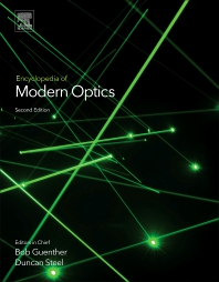 Cover image for Encyclopedia of Modern Optics