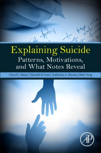 Explaining Suicide - 1st Edition - ISBN: 9780128092897, 9780128095799