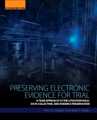 Cover image for Preserving Electronic Evidence for Trial