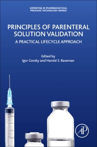 Cover image for Principles of Parenteral Solution Validation