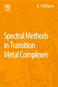 Cover image for Spectral Methods in Transition Metal Complexes