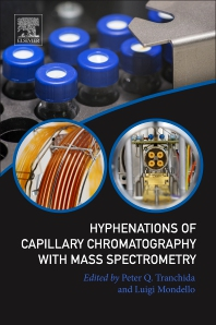 Cover image for Hyphenations of Capillary Chromatography with Mass Spectrometry