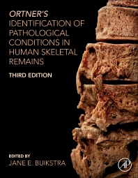 cover of Ortner's Identification of Pathological Conditions in Human Skeletal Remains - 3rd Edition