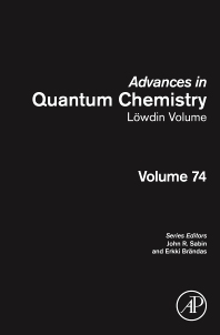 Cover image for Advances in Quantum Chemistry: Lowdin Volume