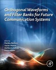 Book cover image for Orthogonal Waveforms and Filter Banks for Future Communication Systems