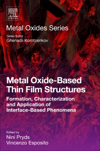 Cover image for Metal Oxide-Based Thin Film Structures
