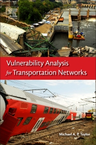 Book cover image for Vulnerability Analysis for Transportation Networks
