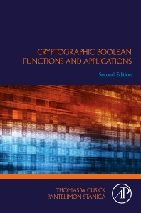 Cover image for Cryptographic Boolean Functions and Applications