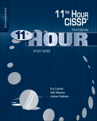 Eleventh Hour CISSP® - 3rd Edition - ISBN: 9780128112489, 9780128113776