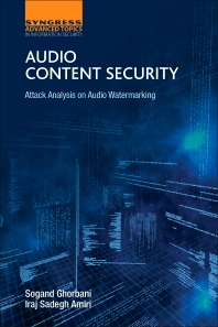 Audio Content Security - 1st Edition - ISBN: 9780128113837, 9780128113844