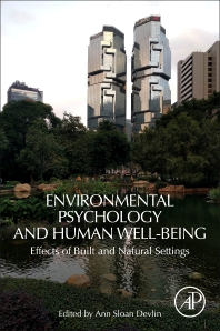 Cover image for Environmental Psychology and Human Well-Being