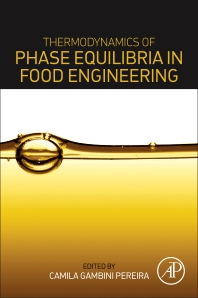 Cover image for Thermodynamics of Phase Equilibria in Food Engineering