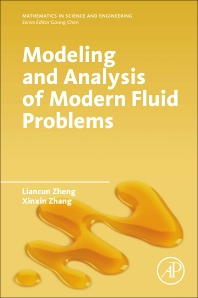 cover of Modeling and Analysis of Modern Fluid Problems - 1st Edition
