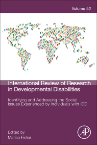 Identifying and Addressing the Social Issues Experienced by Individuals with IDD - 1st Edition - ISBN: 9780128118221, 9780128118238
