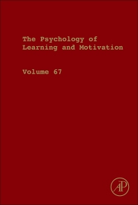 Psychology of Learning and Motivation - 1st Edition - ISBN: 9780128121177, 9780128121689