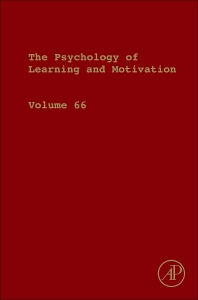 Psychology of Learning and Motivation - 1st Edition - ISBN: 9780128121184, 9780128121696