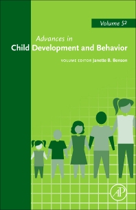 Advances in Child Development and Behavior - 1st Edition - ISBN: 9780128121221, 9780128121733