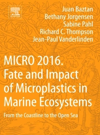 Cover image for MICRO 2016: Fate and Impact of Microplastics in Marine Ecosystems
