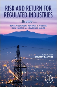 cover of Risk and Return for Regulated Industries - 1st Edition