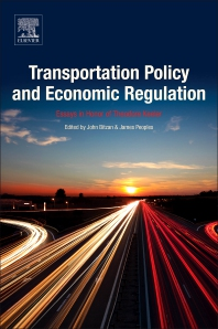Transportation Policy and Economic Regulation - 1st Edition - ISBN: 9780128126202, 9780128126219