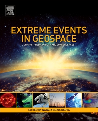 Cover image for Extreme Events in Geospace