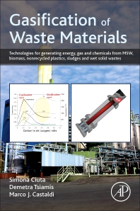 Cover image for Gasification of Waste Materials