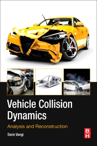 cover of Vehicle Collision Dynamics - 1st Edition
