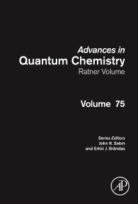 Cover image for Advances in Quantum Chemistry: Ratner Volume