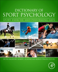 Cover image for Dictionary of Sport Psychology
